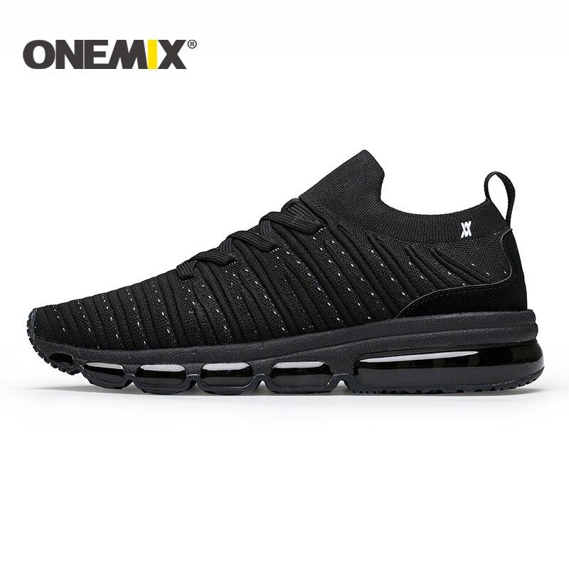 купить ONEMIX 2018 men running shoes Air cushion running shoes men breathable sports shoes running shoes for men or women size 36-47 по цене 3394.44 рублей