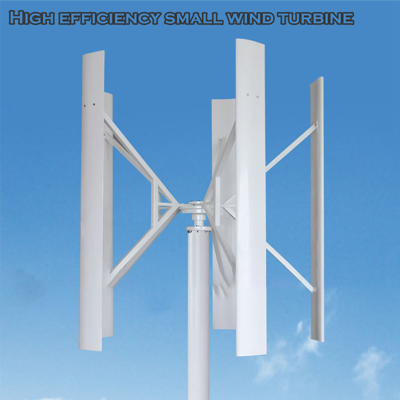 Ménage 5 lames axe vertical Micro éolienne 12v petit outil éolien