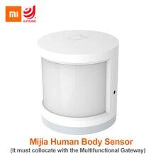 Xiao mi mi jia Infrarot Sicherheit Smart Menschlichen Körper Motion Sensor Fernbedienung Kompatibel Mit mi Smart Home APP Smart kit Sensor