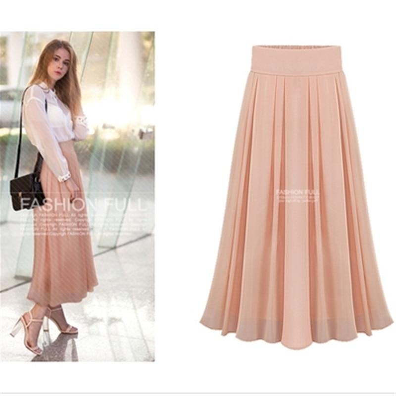 new fashion skirt summer layer chiffon