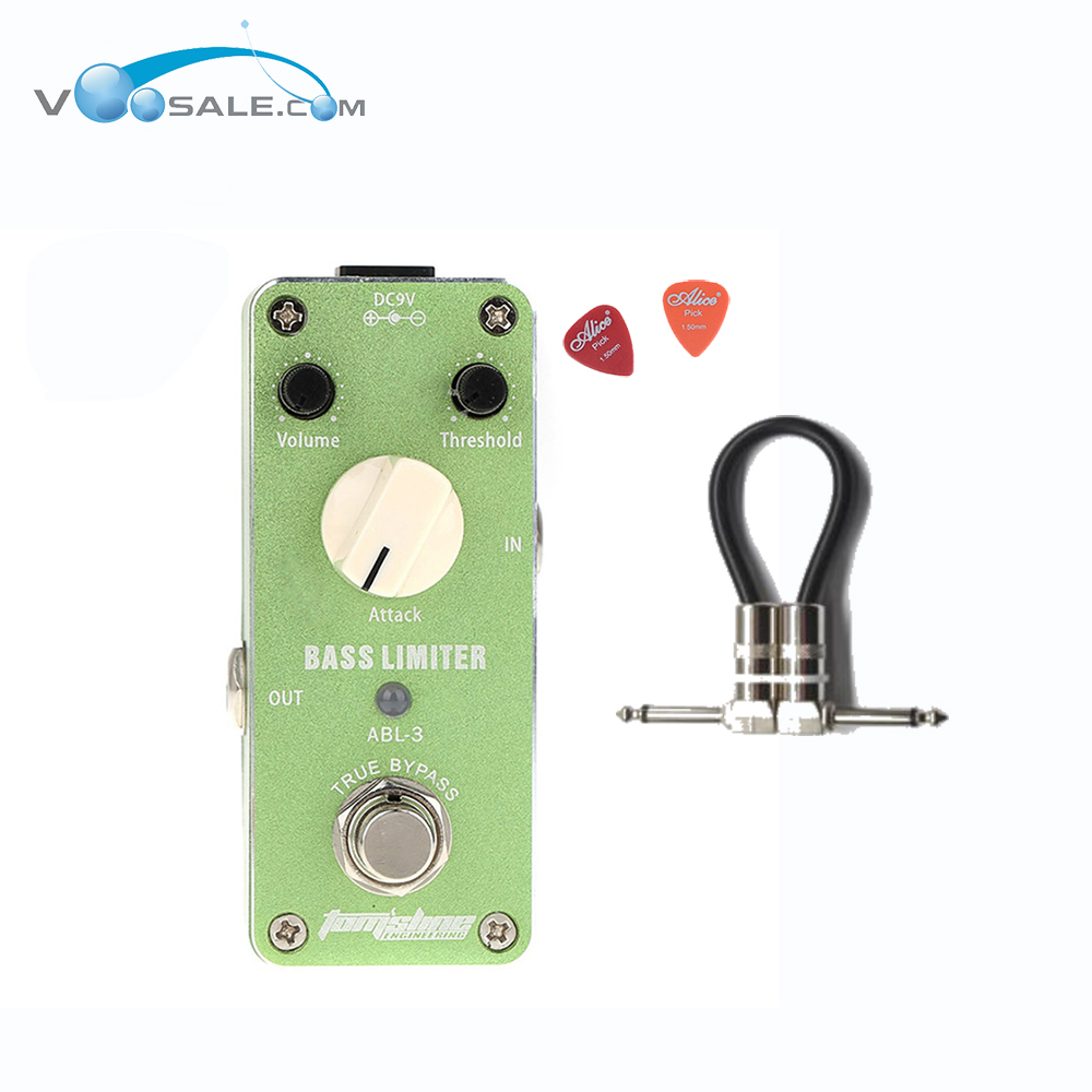Aroma ABL-3 Bass Limiter Mini Guitar Effect Pedal DC9V Power Supply CE ROHS Guitar Accessories+Cable хай хэт и контроллер для электронной ударной установки roland fd 9 hi hat controller pedal