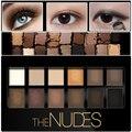 12 cor Bronzer Pigmento Brilho Fosco Sombra de Olho Marca Olhos Cosméticos Maquiagem Kit Sombra Paleta Nu Nu