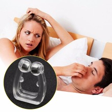 1pcs Silicone Body Health Care Anti Snore Nose Clip Night Sleeping Snoring For Stopping shapers