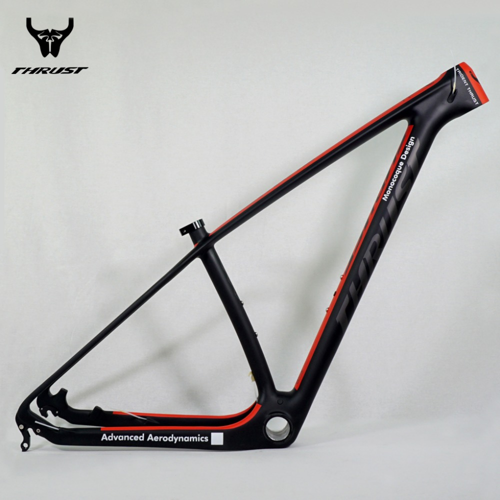 Carbon Mountain Bike Frame 29er THRUST Chinese Carbon mtb Bicycle Frame T1000 Carbon Fibre Frame Bike 29er carbon frame 27.5er(China)