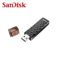 Ücretsiz kargo Orijinal SanDisk Kablosuz Sopa USB Flash Sürücü Bağlamak Için SDWS4 WiFi + USB 2.0 32 GB 64 GB akıllı telefonlar ve Tablet & PC