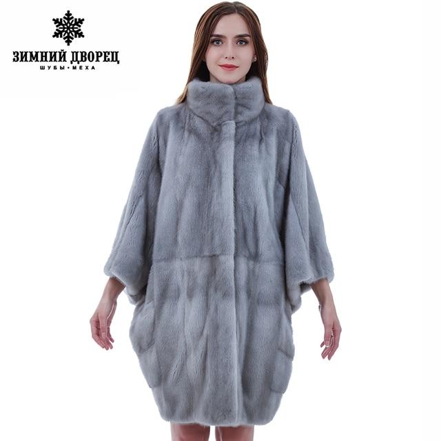 new product 85488 31faf US $2858.02 |Importato cappotto donna cappotto di pelliccia Moda Slim  pelliccia di visone per le donne visone cappotto di pelliccia di visone  cappotti ...