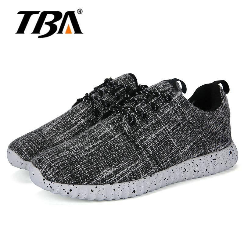TBA Brand Mens Breathable Sports Shoes Lace-up Walk Shoes Free Shipping Leisure Running Shoes -15