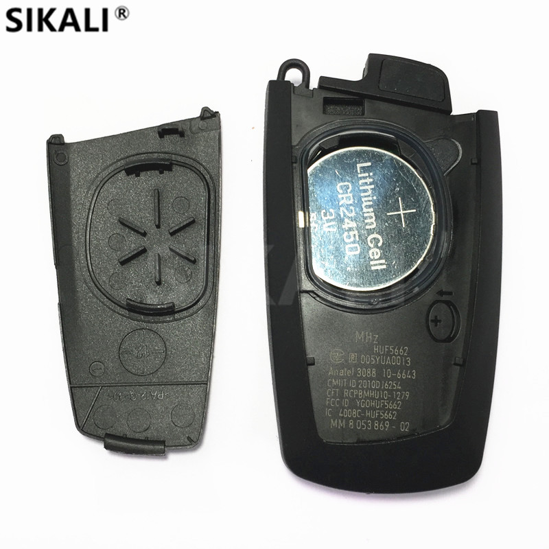 Image 3 - 315Mhz 433Mhz 868Mhz CAS4 Car Smart Remote Key Keytless Entry for BMW 1 3 5 7 Series 523 528 535 550 318 320 325 328 330-in Car Key from Automobiles & Motorcycles