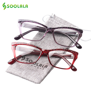 fd1747c38d Montura de titanio puro gafas de lectura magnéticas hombres mujeres Diopter  presbiópico ancianos gafas giran 360 grados sin marco