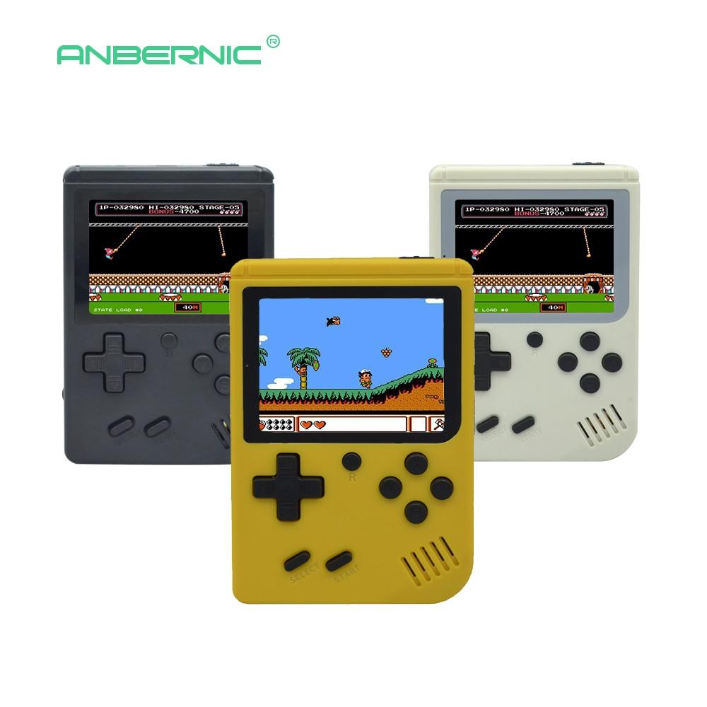 Children Retro Mini Portable Handheld Game Console Players 3.0 Inch Black 8 Bit Classic Video Handheld Game Console RETRO-FC  07 1