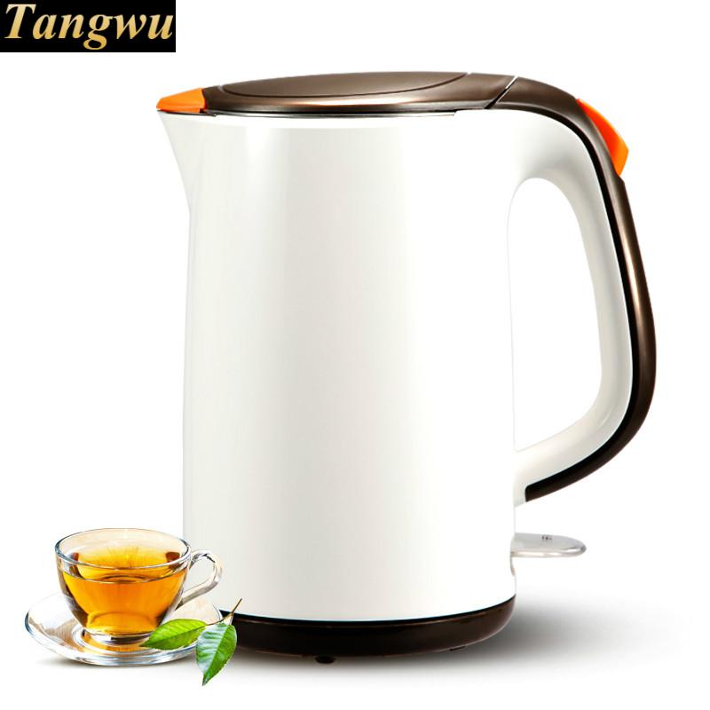 Electric kettle boiling pot 304 stainless steel home insulation 1.7l electric kettle boiling pot 304 stainless steel home insulation 1 7l