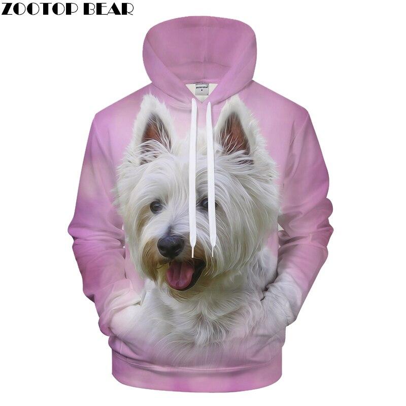 Pink and Dog 3D Streetwear Men Women Printed Hoodies Autumn Sweatshirt Tracksuits Brand Hoodie Pullover Harajuku Drop Ship