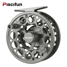 Piscifun Space Grey Sword Fly Reel CNC-machined Aluminium Material 3/4/5/6/7/8/9/10 WT Right Left Handed Fly Fishing Reel