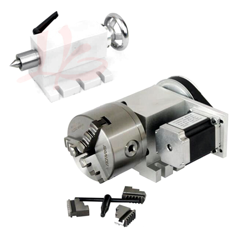CNC tailstock 4th MT2 Rotary Axis Lathe Engraving Machine Chuck suitable for DIY mini milling