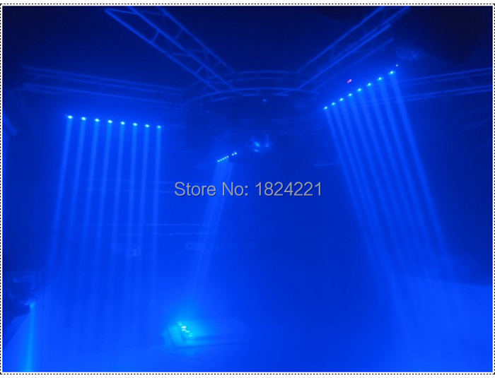 Fast shipping 4pcs/lot Wholesale Price Moving Head Sharpy Beam Light LED Bar 8x10W RGBW DJ Disco Party Stage Lights