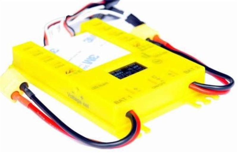 Mini Power DP UBEC Pro Servo sección placa con interruptor de cable doble potencia 9 canales entrada 16 servo salida-in Partes y accesorios from Juguetes y pasatiempos    1