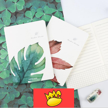 One Leaf Pack of 4 Cute Lined Paper Diary Mini Planner Pocket Journal Agenda School Study Travel Notebook Notepad Memo Gift rock crystal journal diary hard cover blank planner pocket school study notebook agenda notepad travel