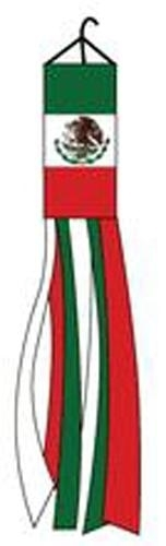 MEXICO FLAG WINDSOCK flying wind sock flag garden FL621 new twirling mexician душевая дверь sturm schick 80 l gold
