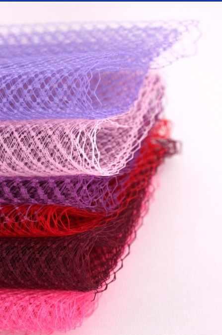 """10 yard/lot 9 """"(22 cm) cage à oiseaux voiles filet chapellerie chapeau voile pour femmes Fascinator voilage casque ACC voiles de mariée"""