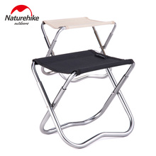 Brand Naturehike factory sell Outdoor Folding Fishing Picnic BBQ Garden Chair Tool Camping Foldable Stool 7075 Aluminium Alloy