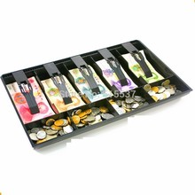 Money Counter case Hard plastic case ABS Plastic 9 Box new Classify store Cashier Drawer box cash drawer tray Coin and Bill Tray