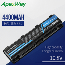 Apexway PA5109U-1BRS Laptop Battery for Toshiba Satellite C50 C50D C55 C55D C55Dt PA5108U-1BRS PA5110U-1BRS цена