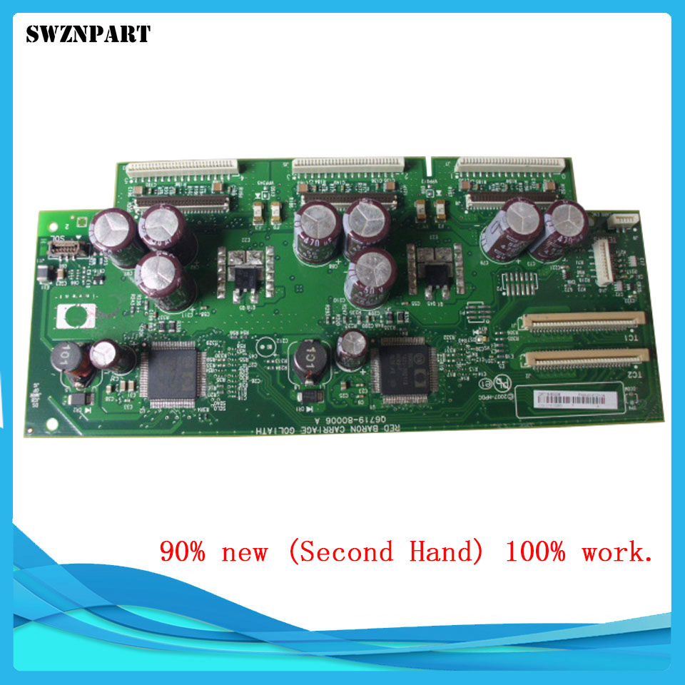 Carriage PCA Board Carriage Board Q6718-67012 Q6659-60175 For HP designjet Z3200 Z3200PS Plotter parts Free shipping ch955 67021 sausalito pci pca main controller card for designjet l25500 60 inch plotter parts free shipping