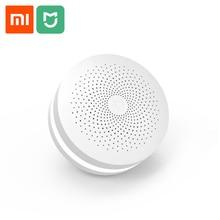 Xiaomi mijia multifunções gateway versão de atualização inteligente centro controle automação residencial hub com alto falante