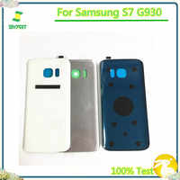 Back Battery Cover Case Rear Cover Shell Back Housing Rear Housing With Sticker For Samsung Galaxy S7 G930 G930F G930FD