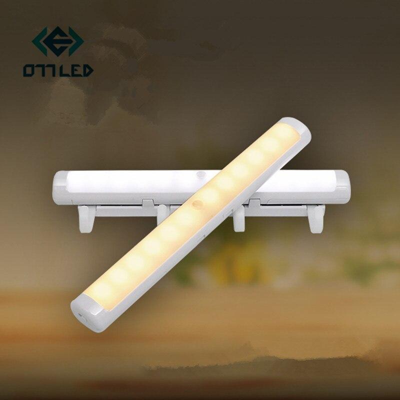Купить светодиодный светильник для шкафа с датчиком движения pir светодиодный