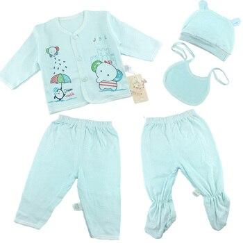 baby sets Girls Boys Clothes Newborn 5pcs/set  set Cotton  Baby infant suit more 15 styles Baby Accessories