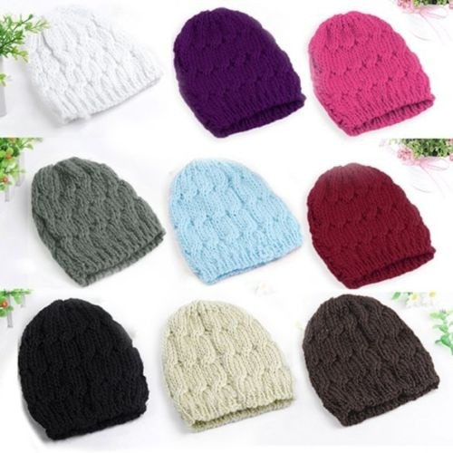 fa8f933b15450 LASPERAL New Lady Women S Chic Winter Knitted Crochet Baggy Beanie ...