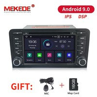 MEKEDE Android 9,0 автомобиля DVD gps для Audi A3 8 P 2003 2012 S3 2006 2012 RS3 Sportback 2011 мультимедийный плеер стерео радио ips DSP