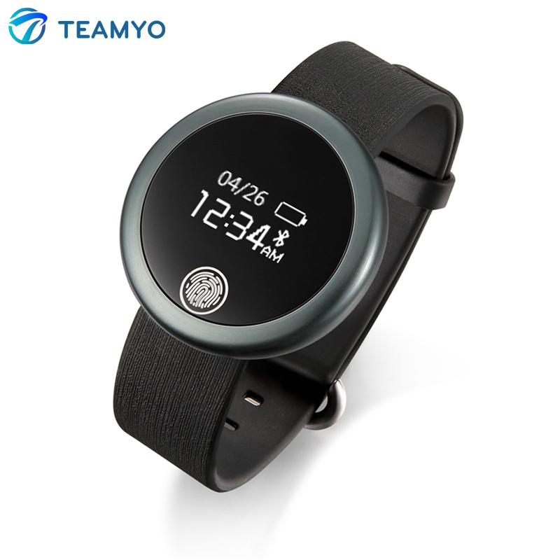 Teamyo Smart Band Heart Rate Monitor Actively Fitness Tracker Bluetooth 4 0 Wristband for IOS Android