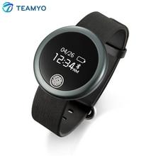 Teamyo Smart пульсометр активно фитнес-трекер Bluetooth 4.0 браслет для IOS устройств Android SmartBand браслет
