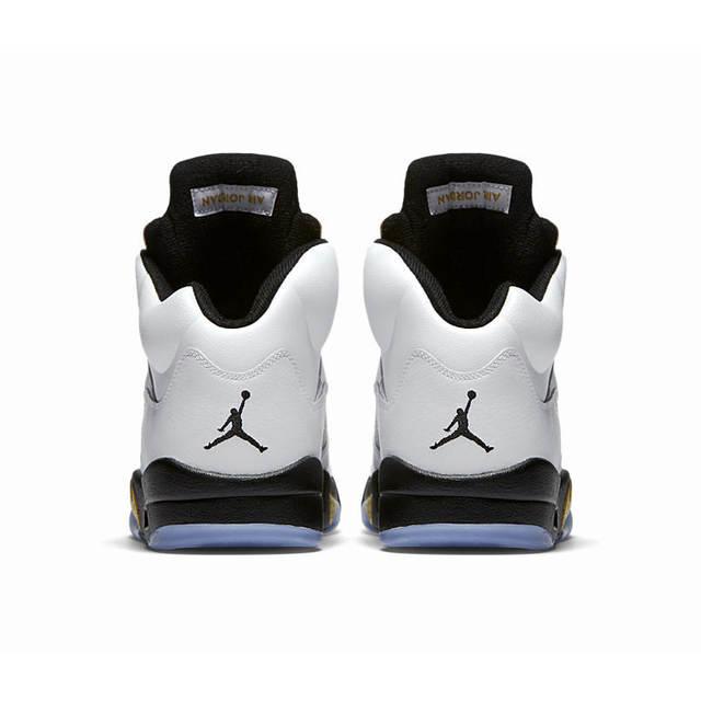 premium selection a5c05 580de Online Shop Original Nike Air Jordan 5 Retro Olympic AJ5 Joe 5 Olympic Gold  Medal In Men s Basketball Shoes, Original Comfortable Shoes   Aliexpress  Mobile