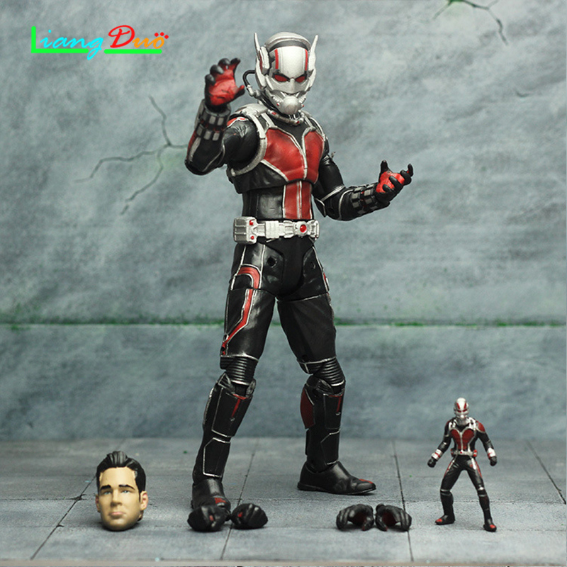 Hot toys for Ant-Man Scott Lang PVC model Action Figure Beweegbare ant man playmobil anime Collectie Speelgoed for children ant man ant man yellow jacket 6 5cm mini figure with acrylic base action figure toys