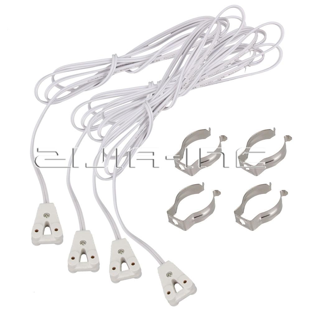 t8 lamp holder socket 120cm led tube base bracket clips. Black Bedroom Furniture Sets. Home Design Ideas