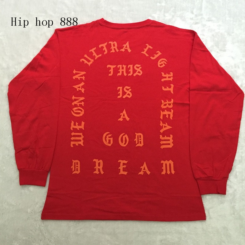 HTB1HXkgNpXXXXb7XXXXq6xXFXXXX - Kanye West I Feel Like Kobe long sleeve commemorate T shirt PTC 108