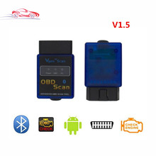 Elm327 Vgate Scan advanced obd scan OBD2 Diagnostic Tool&Code Reader For Multi-Car ELM327 V1.5 On Android Bluetooth