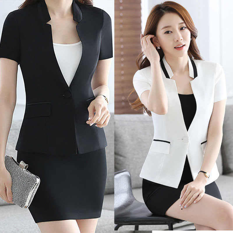 5078c07a7184 2017 New Slim Summer Women Short Sleeve V-neck Work Office Lady Business  Outwear Tops