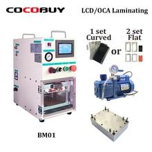 BM01 Vacuum Laminating Machine for iPhone Smausung Laminate Glass with OCA Polarizer LCD Laminator Repair Tool