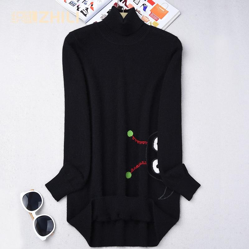 2017 Женский кашемировый свитер кашемировый пуловер тонкий кашемировый свитер с хомутом