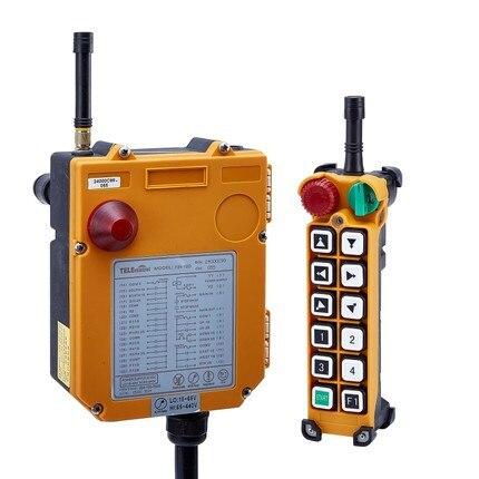 F24-12D 2 Speed 12 Ch Overhead Hoist Crane Radio Remote Control Multi voltage 65~440V