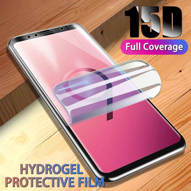 Hydrogel Screen Protector For Samsung Galaxy S9 S10 S8 Plus Note 8 9 Protective Film For S10E S7 S6 Edge Full Cover Protection