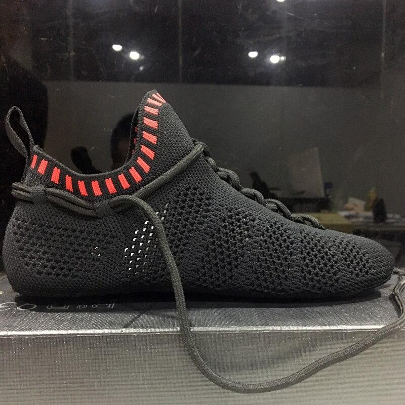 2019 hommes pataugeant en amont chaussette chaussures pour femmes jogging pas de colle baskets intérieur Yoga sport chaussure en plein air Trekking marche pantoufles - 5