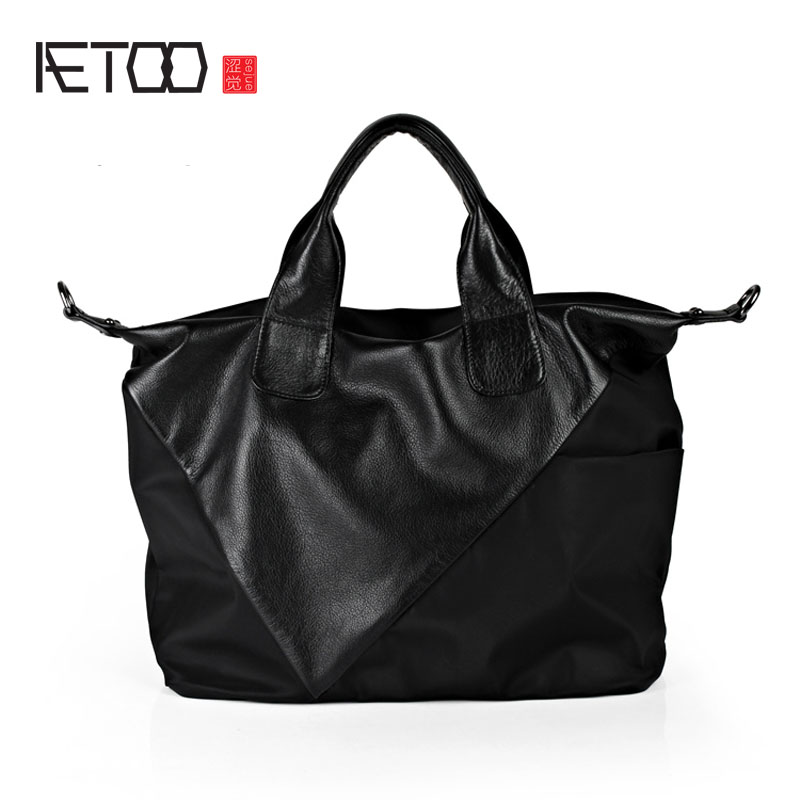 AETOO Europe and the United States leisure simple dumplings package Oxford cloth handbags shoulder diagonal package nylon with