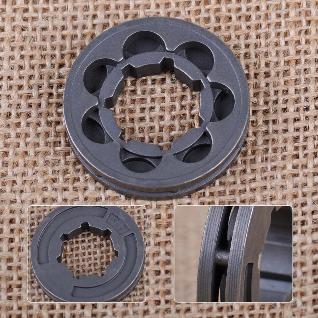 LETAOSK P-7 7 Teeth Rim Sprocket Fit For Stihl 017 018 021 023 MS170 MS180 MS250 MS251 Chainsaw