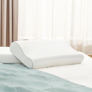 Image 3 - Подушка из хлопка с эффектом памяти, 8H, приятное ощущение, медленно восстанавливает форму, супермягкая Антибактериальная подушка для поддержки шеи H1