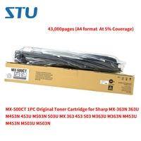 MX 500CT 1 PC Original Do Cartucho de Toner para Sharp MX 363N 363U M453N 453U M503N 503U MX 363 453 503 M363U M363N m453U M503U M503N|Cartuchos de toner| |  -